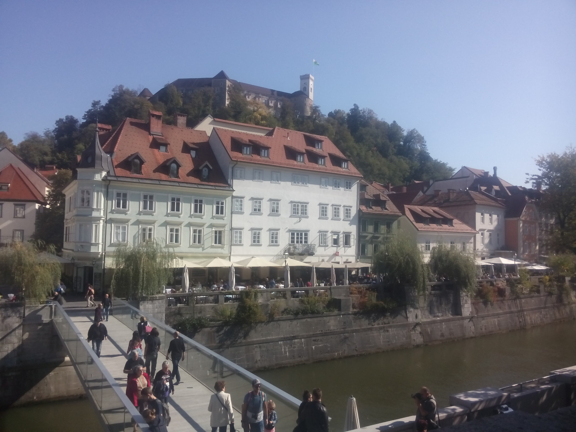 Ljubljana in September
